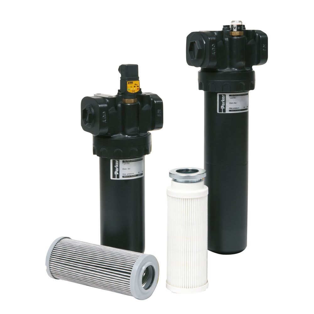 Medium Pressure Hydraulic filter made by Parker