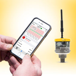 Predictive maintenance with Parker SensoNODE wireless sensors and IIoT