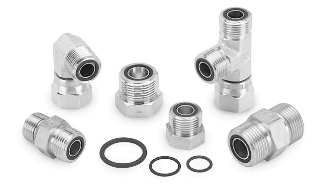 Parker O-ring face seal fittings