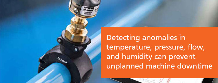 predictive maintenance detects anomalies to prevent unplanned machine downtime