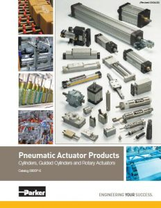 Parker Pneumatic Actuation Products