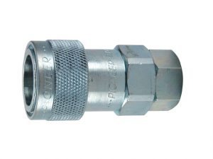 Parker 5000 Series connect-under-pressure hydraulic quick couplings