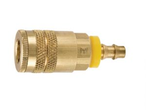 Parker pneumatic brass coupling