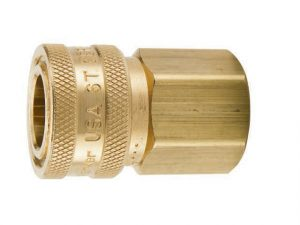 Parker quick couplings for water service applications