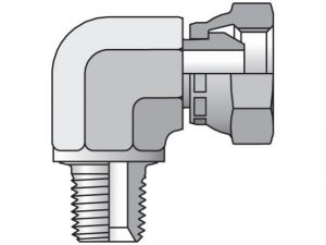 Parker pipe swivel elbow fitting