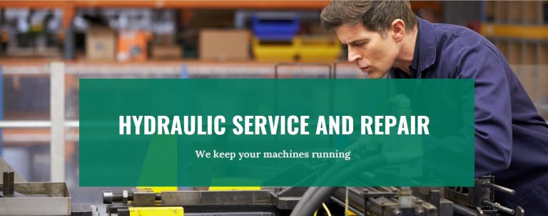 Our hydraulic repair services keep you up and running